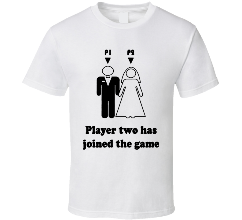 Player One Player Two Has Entered The Game Marriage Video ...