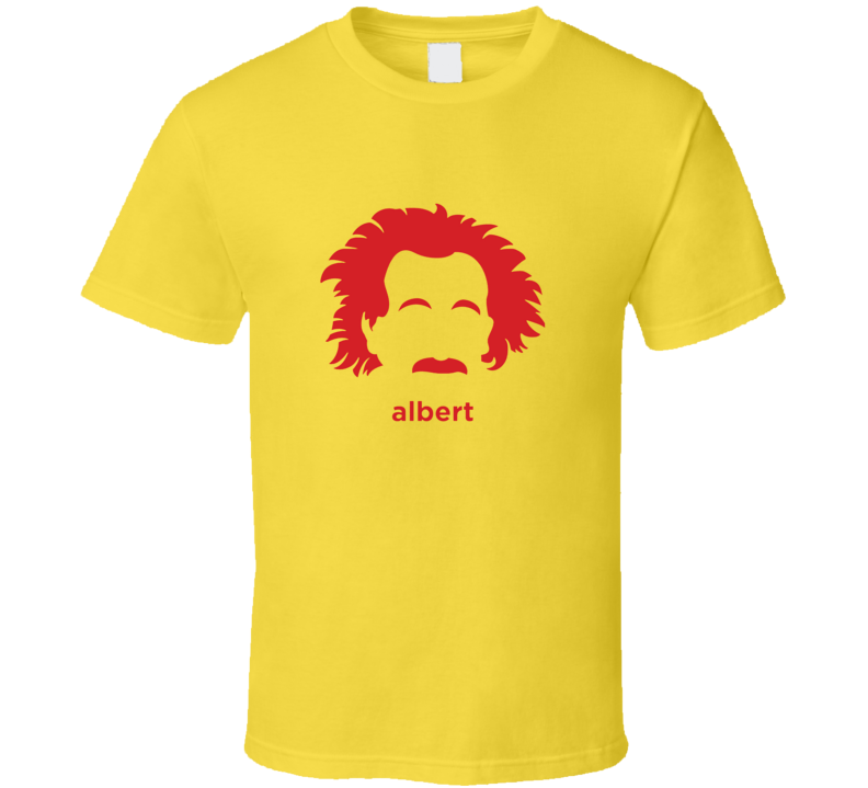 Albert Einstein Hair Cool  T Shirt