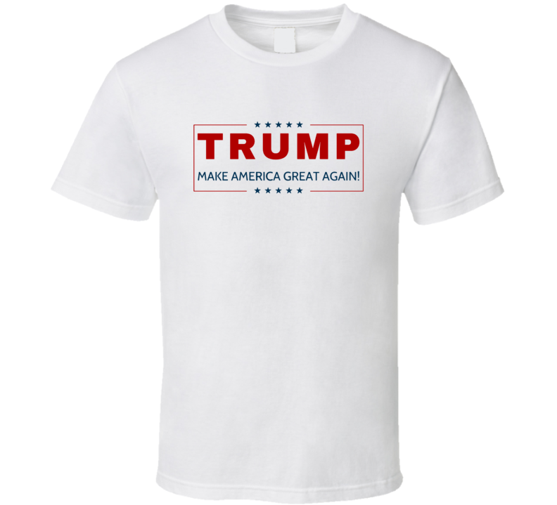 Donald Trump Make America Great Candidate President Republican T Shirt