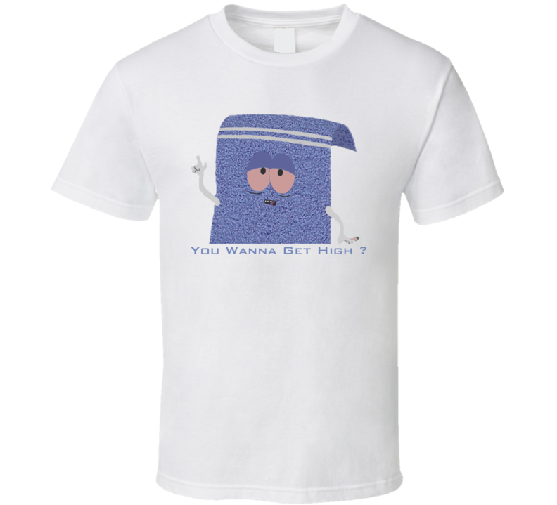 Southpark Towelie funny t shirt