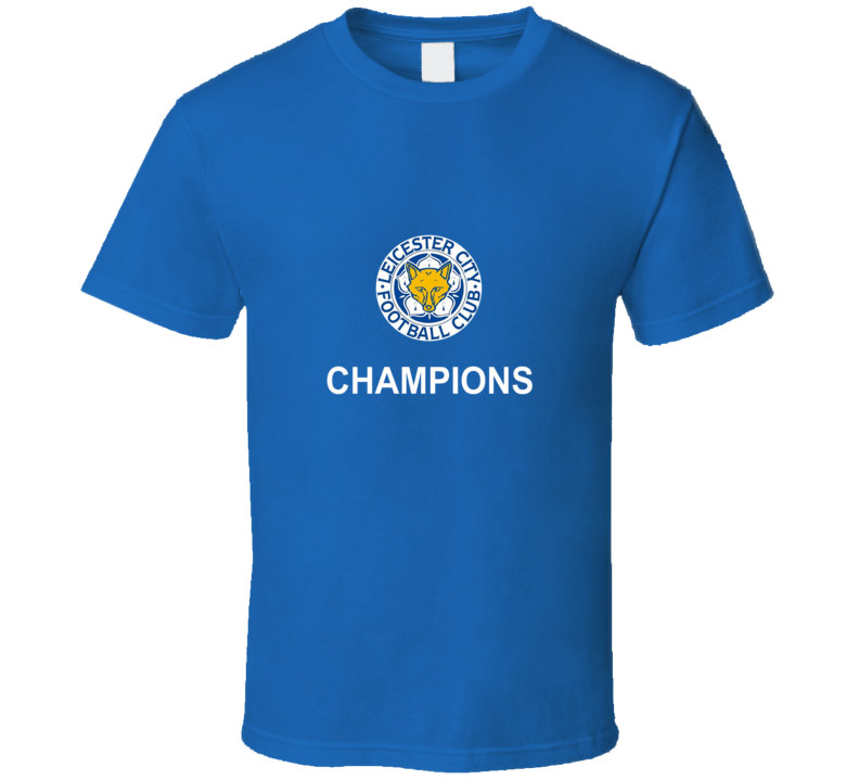 Leicester City Wolves EPL CHAMPIONS T Shirt