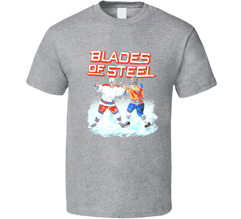 Blades Of Steel Hockey Video Game Nintendo T Shirt