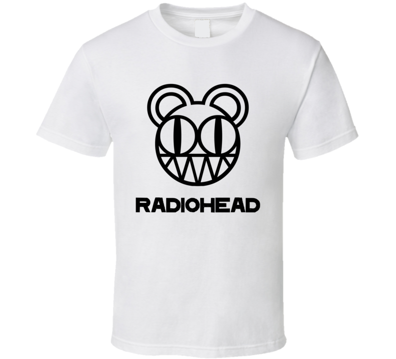 Radiohead Rock Band Music Logo White T Shirt