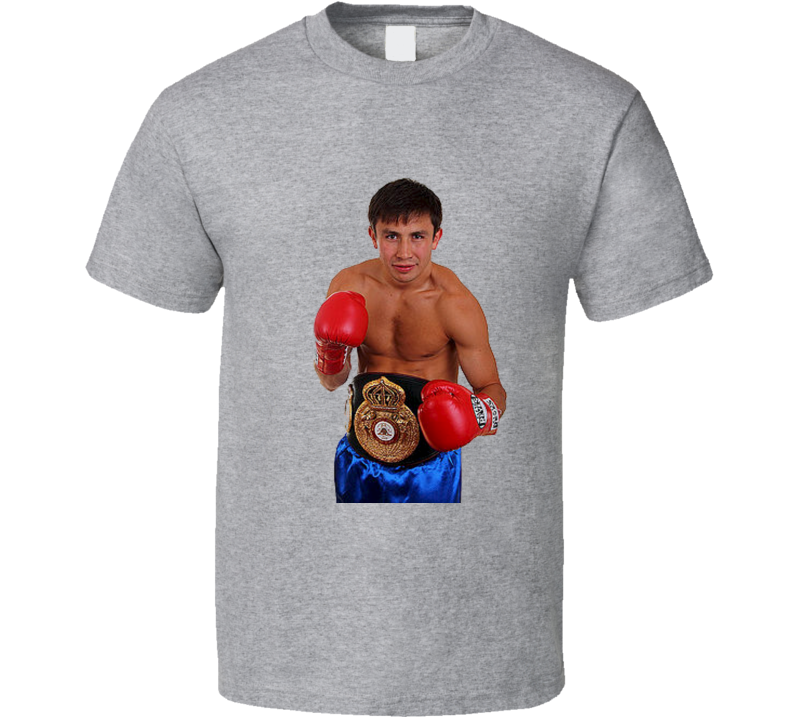 Gennady Golovkin Triple G Middleweight Boxing T Shirt