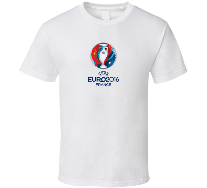 Euro 2016 France Soccer Championships Football Tournament T Shirt