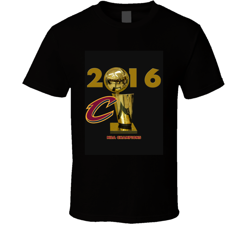 Cleveland 2016 Cavaliers Basketball Champions  T Shirt