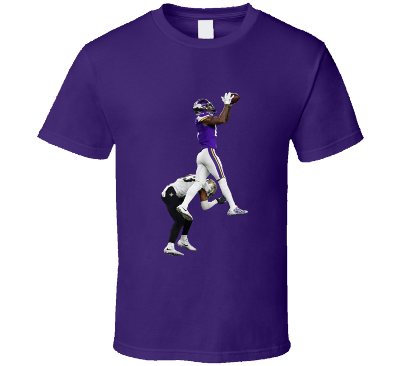 Stefon Diggs The Catch Minnesota Wide Receiver Football T Shirt
