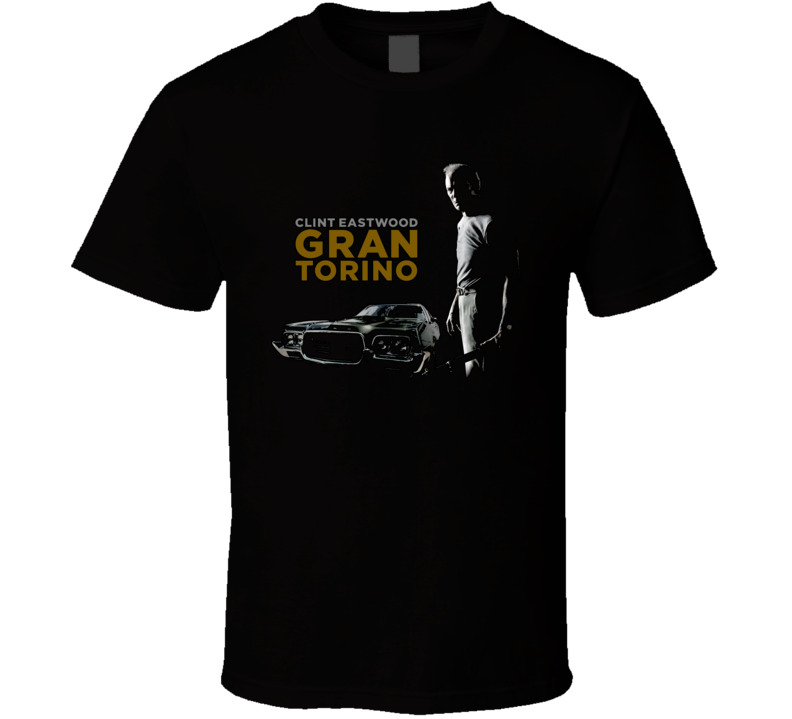 Grand Torino Clint Eastwood Movie T Shirt