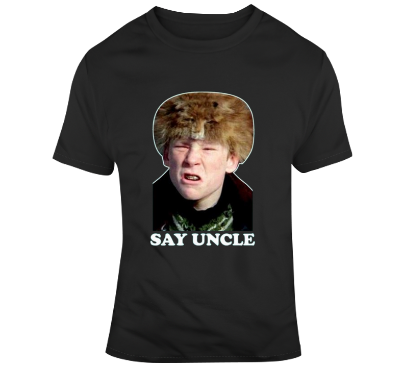 A Christmas Story Bully.Scut Farkus Bully Say Uncle A Christmas Story Classic Vintage Funny T Shirt