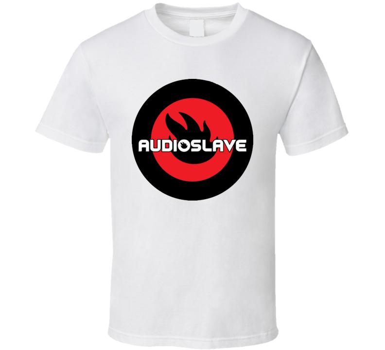 Audioslave rock band logo t shirt for Banded bottom shirts canada
