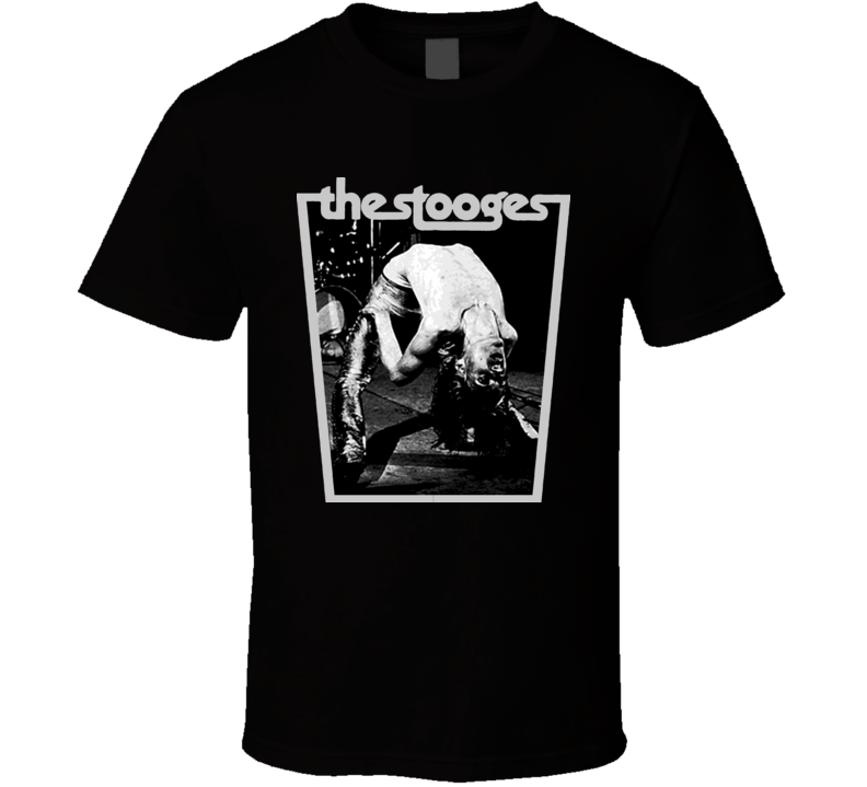 Iggy And The Stooges Rock Pop Music T Shirt