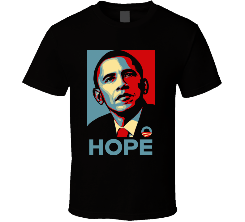 Barrack Obama Hope T Shirt