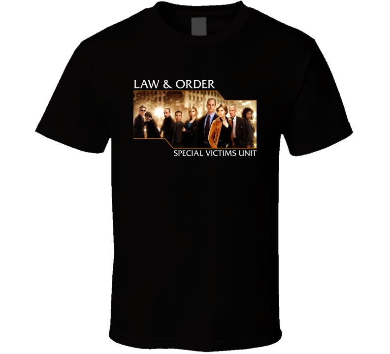 law and order special victims unit tv t shirt